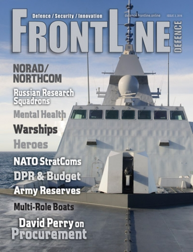 Frontline Defence Cover Issue 3 - 2016