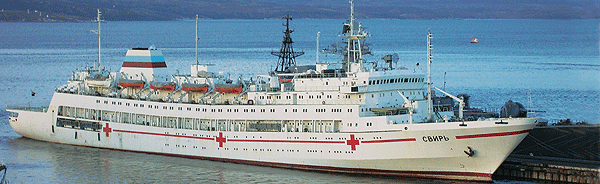 The canadian armed forces dispatch rcn needs a hospital ship stat the russian navy has three ob class ships irtysh svir and yenisey built between 1981 and 1990 each has 7 operating rooms 100 hospital beds and a stopboris Choice Image