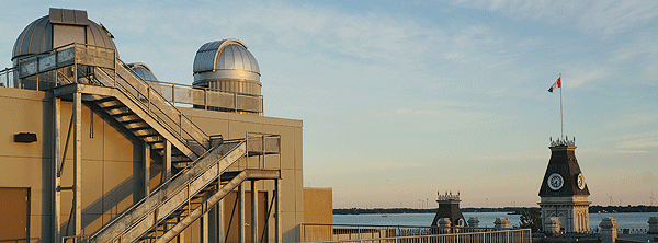 The newly refurbished RMCC Observatory is used for academic and research projects focused on space surveillance. The observatory is also used for outreach activities aimed at promoting an interest in astronomy.