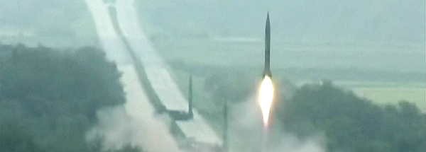Sept 2016 – According to South Korean officials, three medium-range missiles were launched from an undisclosed location in North Korea. Travelling about 1,000 kilometers (620 miles), they landed near Japan in an apparent show of force timed to coincide with the G-20 Economic Summit in China.