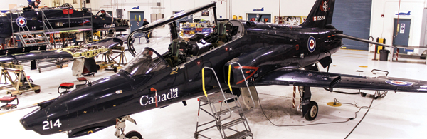 9cea62a1f7 CAE technicians handle aircraft maintenance for the Hawks and Harvards,  including the current Fatigue Life Improvement Program for the Hawk  aircraft.