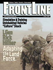 Frontline Defence Cover Issue 1 - 2005