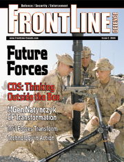 Frontline Defence Cover Issue 2 - 2006