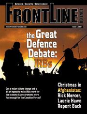 Frontline Defence Cover Issue 1 - 2007