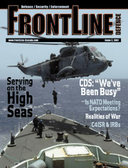 Frontline Defence Cover Issue 2 - 2007