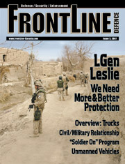 Frontline Defence Cover Issue 3 - 2007
