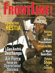 Frontline Defence Cover Issue 1 - 2010