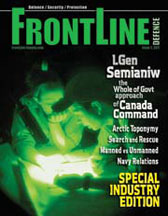 Frontline Defence Cover Issue 2 - 2011