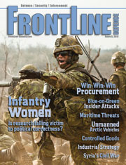 Frontline Defence Cover Issue 5 - 2012