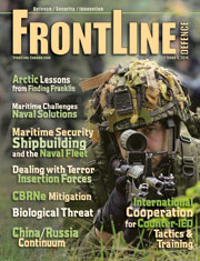 Frontline Defence Cover Issue 5 - 2014