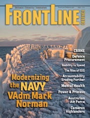 Frontline Defence Cover Issue 1 - 2015