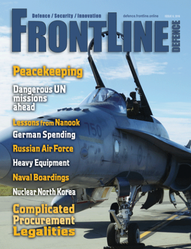 Frontline Defence Cover Issue 6 - 2016