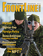 Frontline Defence Cover Issue 1 - 2017