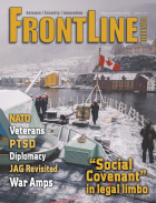 Frontline Defence Cover Issue 1 - 2018